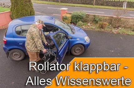 Rollator klappbar